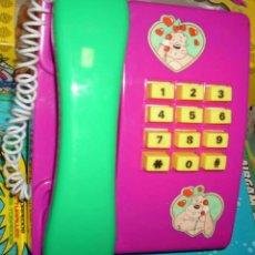 Juguetes antiguos: TELEFONO HUCHA DE PLÁSTICO CON SONIDO RF 809 - AÑOS 70/80 - CAJA BIEN, JUGUETE SIN USO VER ENVIOS. Lote 126908619