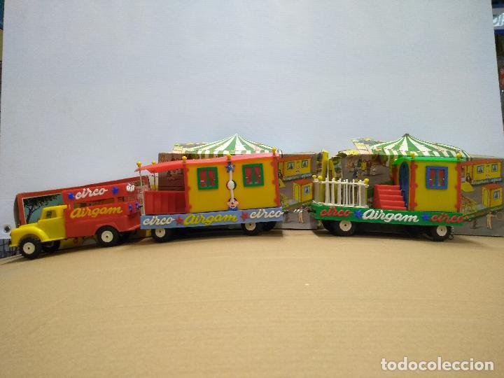 CONVOY COCHE CON DOS REMOLQUES CIRCO AIRGAN (Spielzeug - Klassische Marken - Andere Marken)