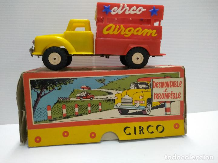 Altes Spielzeug: Convoy coche con dos remolques Circo Airgan - Foto 2 - 126913335