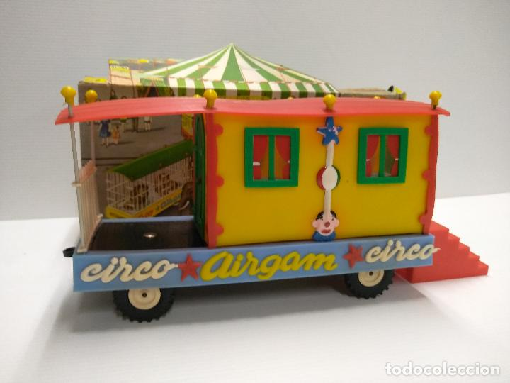 Altes Spielzeug: Convoy coche con dos remolques Circo Airgan - Foto 3 - 126913335
