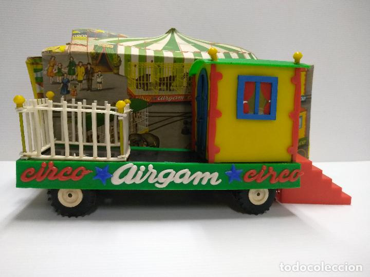 Altes Spielzeug: Convoy coche con dos remolques Circo Airgan - Foto 4 - 126913335