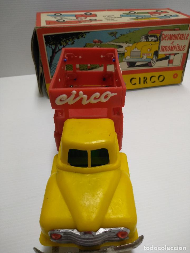 Altes Spielzeug: Convoy coche con dos remolques Circo Airgan - Foto 5 - 126913335