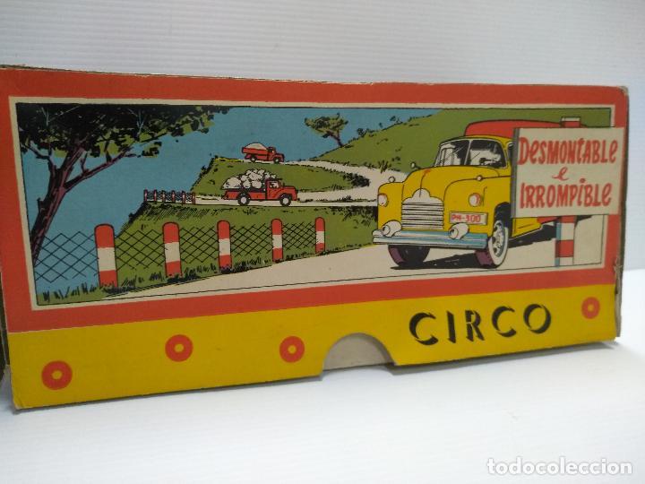 Altes Spielzeug: Convoy coche con dos remolques Circo Airgan - Foto 6 - 126913335