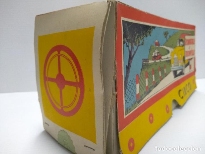 Altes Spielzeug: Convoy coche con dos remolques Circo Airgan - Foto 7 - 126913335