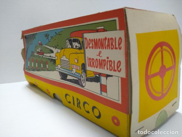 Altes Spielzeug: Convoy coche con dos remolques Circo Airgan - Foto 8 - 126913335