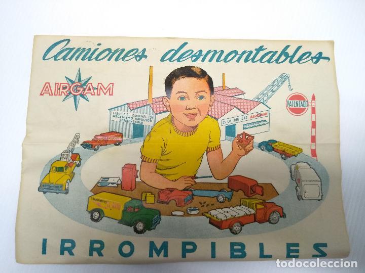Altes Spielzeug: Convoy coche con dos remolques Circo Airgan - Foto 10 - 126913335