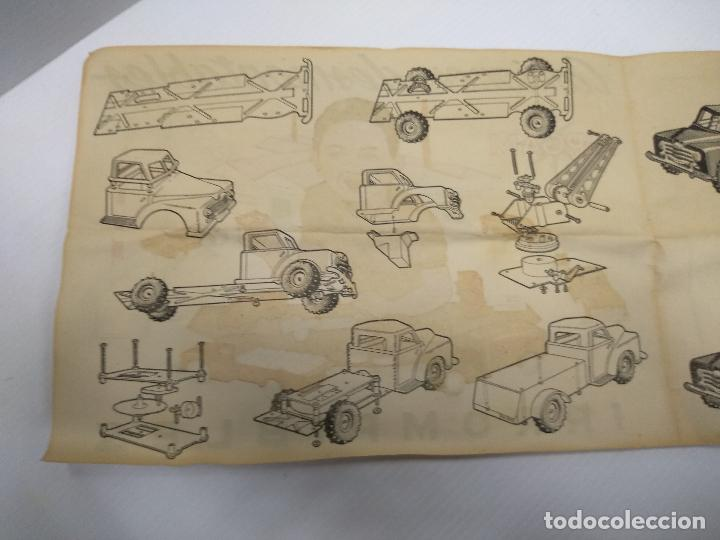 Altes Spielzeug: Convoy coche con dos remolques Circo Airgan - Foto 11 - 126913335