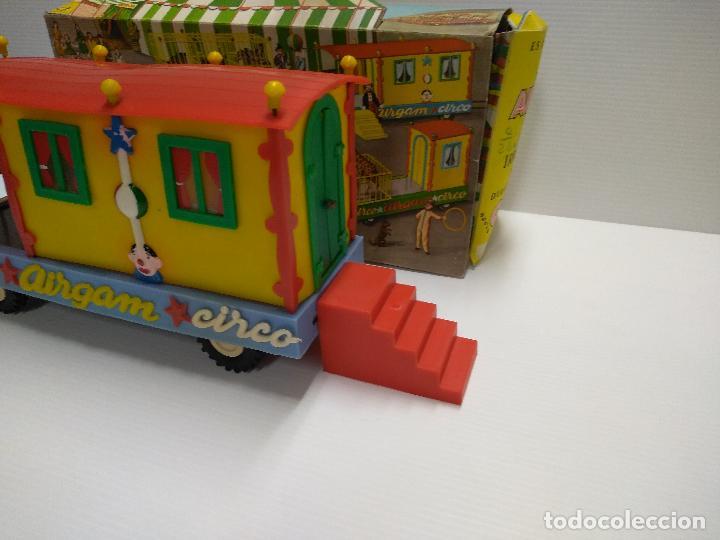 Altes Spielzeug: Convoy coche con dos remolques Circo Airgan - Foto 17 - 126913335