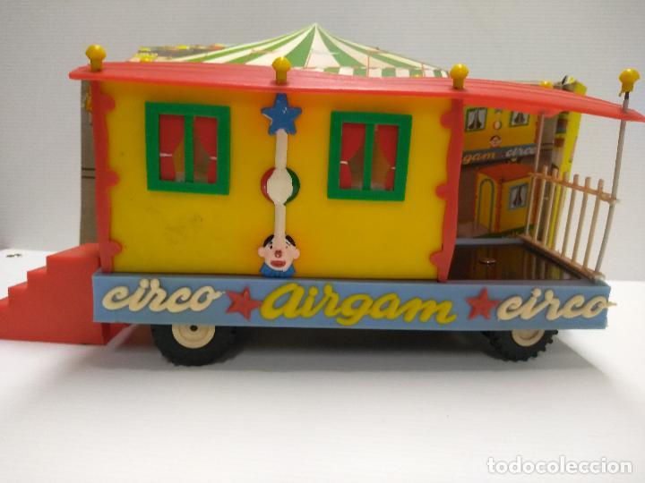 Altes Spielzeug: Convoy coche con dos remolques Circo Airgan - Foto 18 - 126913335