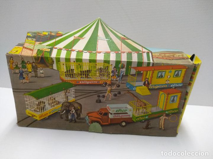 Altes Spielzeug: Convoy coche con dos remolques Circo Airgan - Foto 19 - 126913335