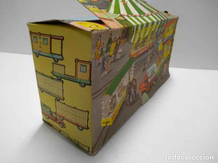 Altes Spielzeug: Convoy coche con dos remolques Circo Airgan - Foto 22 - 126913335