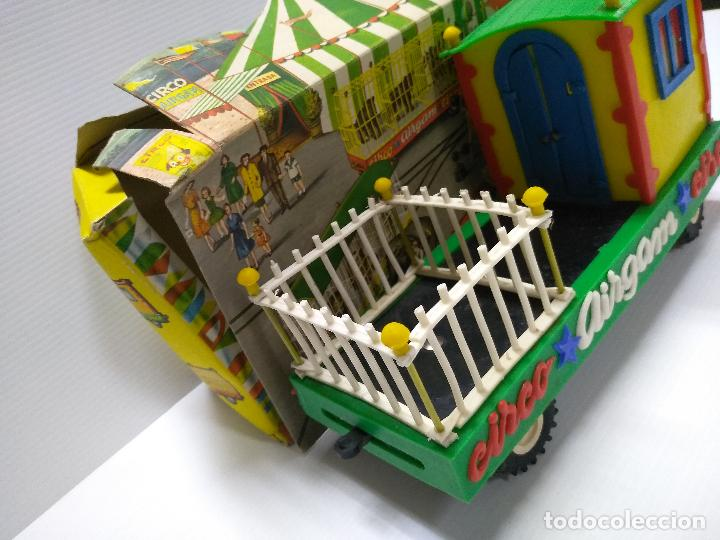 Altes Spielzeug: Convoy coche con dos remolques Circo Airgan - Foto 24 - 126913335