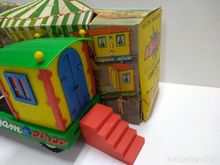 Altes Spielzeug: Convoy coche con dos remolques Circo Airgan - Foto 25 - 126913335