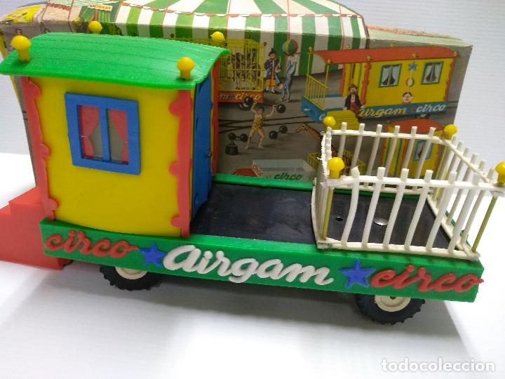 Altes Spielzeug: Convoy coche con dos remolques Circo Airgan - Foto 26 - 126913335