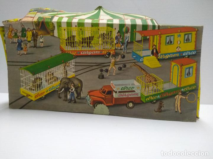 Altes Spielzeug: Convoy coche con dos remolques Circo Airgan - Foto 28 - 126913335