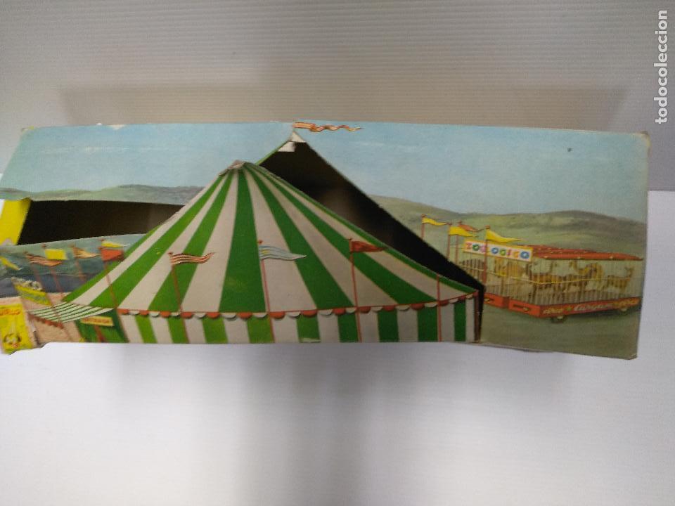 Altes Spielzeug: Convoy coche con dos remolques Circo Airgan - Foto 33 - 126913335