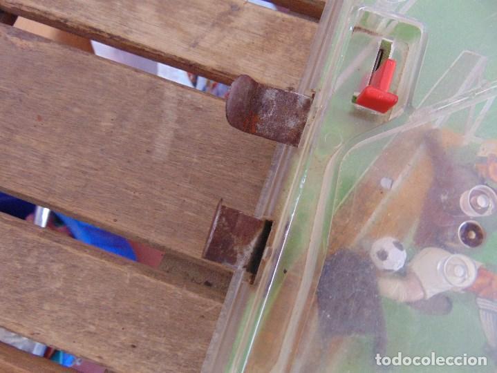 Juguetes antiguos: FUTBOLIN FUTBOL TIPO COPA DE EUROPA DE LA MARCA INOVAC RIMA PARA PIEZAS O RESTAURAR - Foto 5 - 126950239