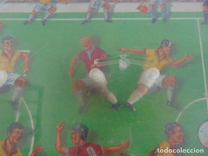 Juguetes antiguos: FUTBOLIN FUTBOL TIPO COPA DE EUROPA DE LA MARCA INOVAC RIMA PARA PIEZAS O RESTAURAR - Foto 7 - 126950239