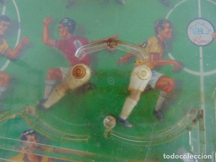 Juguetes antiguos: FUTBOLIN FUTBOL TIPO COPA DE EUROPA DE LA MARCA INOVAC RIMA PARA PIEZAS O RESTAURAR - Foto 8 - 126950239
