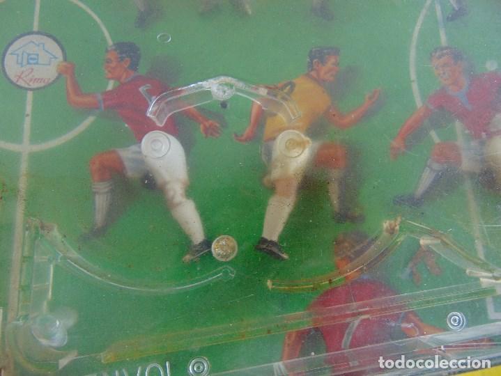 Juguetes antiguos: FUTBOLIN FUTBOL TIPO COPA DE EUROPA DE LA MARCA INOVAC RIMA PARA PIEZAS O RESTAURAR - Foto 10 - 126950239