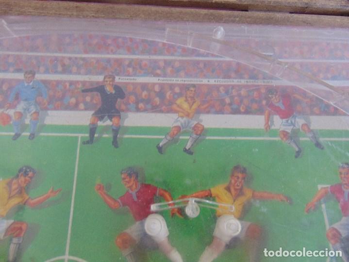 Juguetes antiguos: FUTBOLIN FUTBOL TIPO COPA DE EUROPA DE LA MARCA INOVAC RIMA PARA PIEZAS O RESTAURAR - Foto 11 - 126950239