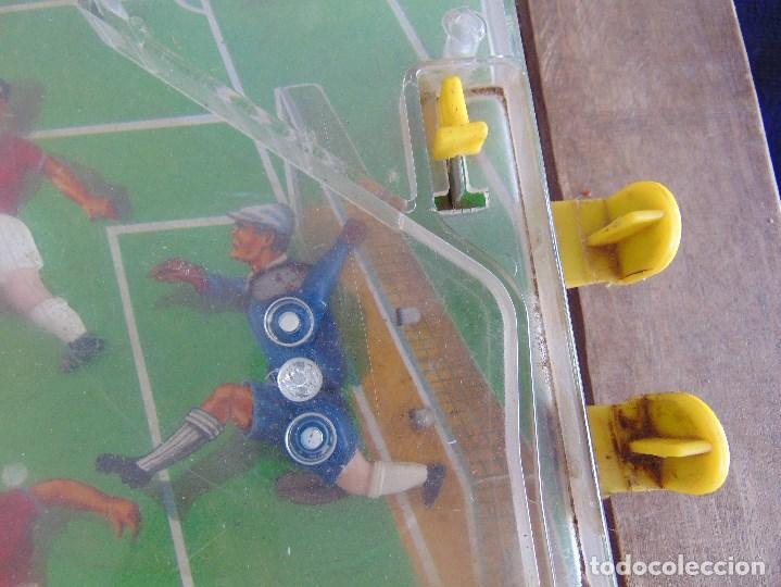 Juguetes antiguos: FUTBOLIN FUTBOL TIPO COPA DE EUROPA DE LA MARCA INOVAC RIMA PARA PIEZAS O RESTAURAR - Foto 13 - 126950239