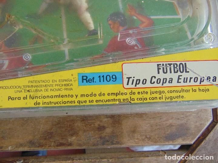 Juguetes antiguos: FUTBOLIN FUTBOL TIPO COPA DE EUROPA DE LA MARCA INOVAC RIMA PARA PIEZAS O RESTAURAR - Foto 14 - 126950239