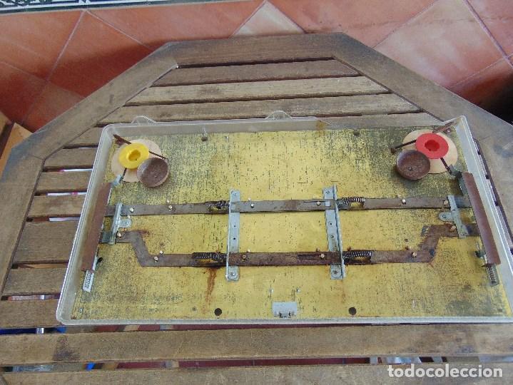 Juguetes antiguos: FUTBOLIN FUTBOL TIPO COPA DE EUROPA DE LA MARCA INOVAC RIMA PARA PIEZAS O RESTAURAR - Foto 16 - 126950239