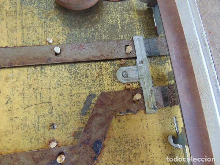 Juguetes antiguos: FUTBOLIN FUTBOL TIPO COPA DE EUROPA DE LA MARCA INOVAC RIMA PARA PIEZAS O RESTAURAR - Foto 28 - 126950239