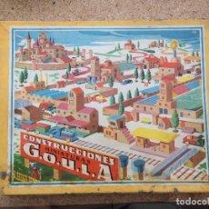 Juguetes antiguos: JUEGO DE CONSTRUCCIONES GOULA. Lote 128893275
