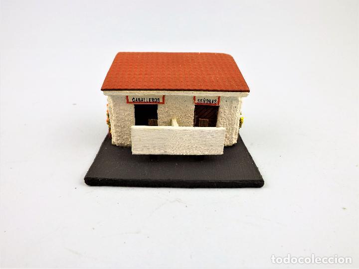 Juguetes antiguos: Protren Casa WC escala H0 - Foto 3 - 210941126