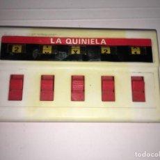 Brinquedos antigos: JUEGO DE BOLSILLO LA QUINIELA DE GEYPER. Lote 130624790