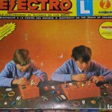 Juguetes antiguos: ELECTRO L AIRGAM Nº 2, AIRGAM, JUEGO DE ELECTRICIDAD, JUGUETE ANTIGUO. Lote 131279051
