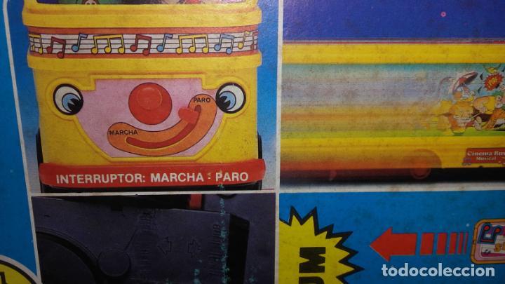 Juguetes antiguos: RIMA AUTOBUS CINEMA MUSICAL , JUGUETES RIMA, JUGUETE ANTIGUO - Foto 7 - 131367862