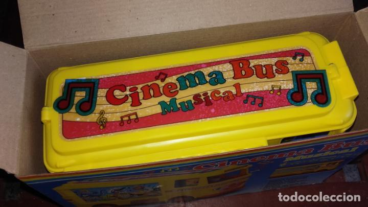 Juguetes antiguos: RIMA AUTOBUS CINEMA MUSICAL , JUGUETES RIMA, JUGUETE ANTIGUO - Foto 11 - 131367862