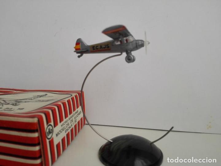 Juguetes antiguos: EKO Piper PA 18 en su caja - Foto 3 - 131581126