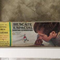 Juguetes antiguos: RESCATE ESPACIAL CONGOST PARA PIEZAS O REPARAR. Lote 132412290