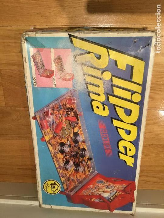 Juguetes antiguos: Flipper Rima - Foto 5 - 133634446