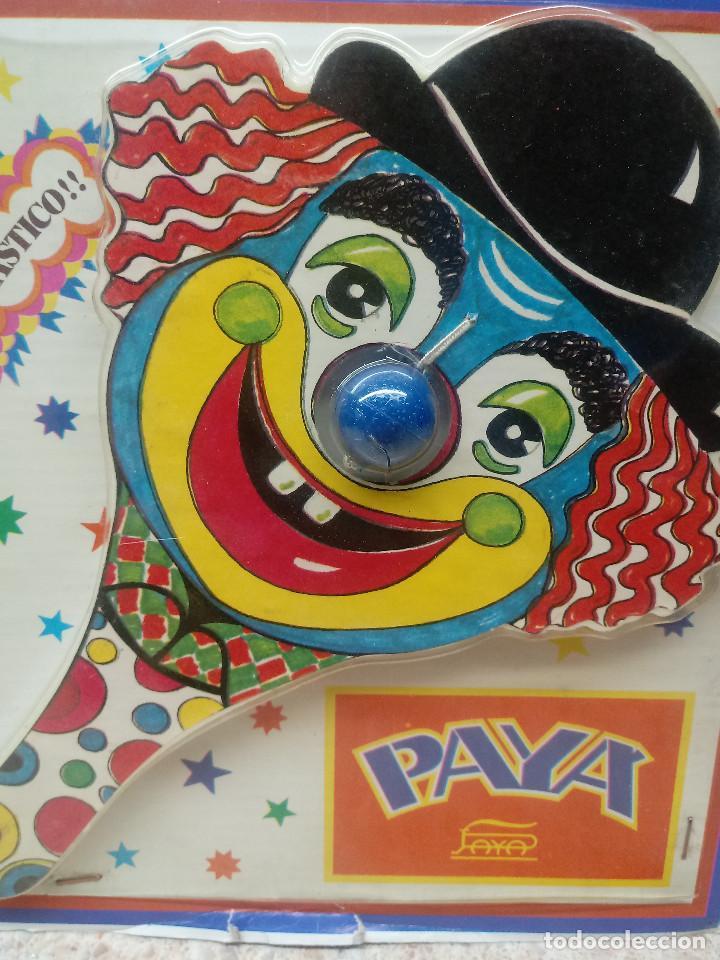 Juguetes antiguos: JUGUETE TRAGABOLAS DE PAYA EN BLISTER ORIGINAL. - Foto 2 - 135566482