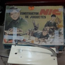 Juguetes antiguos: CONSTRUCTOR DE JUGUETES NIC. Lote 135941573