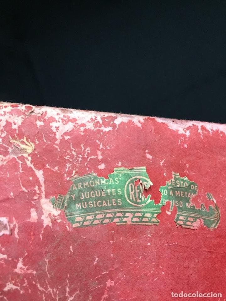 Juguetes antiguos: Antigua caja musical Reig, Nacimiento, belén y reyes magos. Años 40. Ibi, Alicante. Juguete antiguo - Foto 10 - 135950441