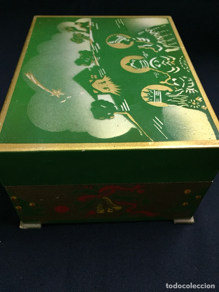 Juguetes antiguos: Antigua caja musical Reig, Nacimiento, belén y reyes magos. Años 40. Ibi, Alicante. Juguete antiguo - Foto 14 - 135950441