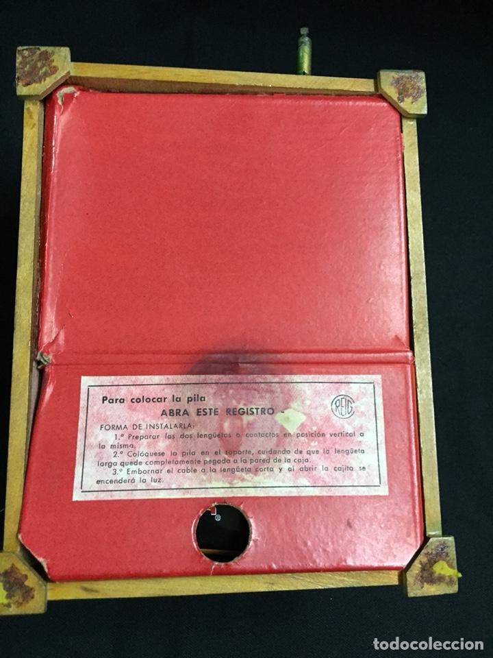 Juguetes antiguos: Antigua caja musical Reig, Nacimiento, belén y reyes magos. Años 40. Ibi, Alicante. Juguete antiguo - Foto 16 - 135950441