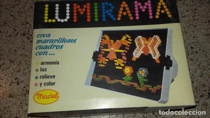 LUMIRAMA DE MADEL REF. 214, JUGUETE ANTIGUO , LUMIRAMA (Juguetes - Marcas Clasicas - Otras Marcas)