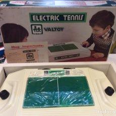 Juguetes antiguos: ELECTRIC VALTOY ELECTRIC TENNIS NUEVO. Lote 137310230