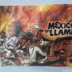 Juguetes antiguos: MONTA PLEX MEXICO EN LLAMAS. Lote 137499930