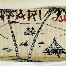 Juguetes antiguos: SAFARI JEFE DE SALUDES. Lote 137621406
