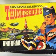 Juguetes antiguos: THE THUNDERBIRDS. DISFRAZ COMPLETO AÑOS 60. Lote 144696140