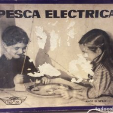 Juguetes antiguos: PESCA ELÉCTRICA JUGUETES SEL MAC MADE IN SPAIN. Lote 137791249