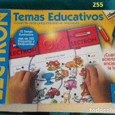 Juguetes antiguos: JUEGO ELECTRON - TEMAS EDUCATIVOS. Lote 137802406